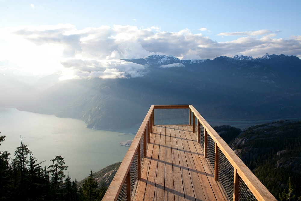 Spirit Trail Viewing Platform.