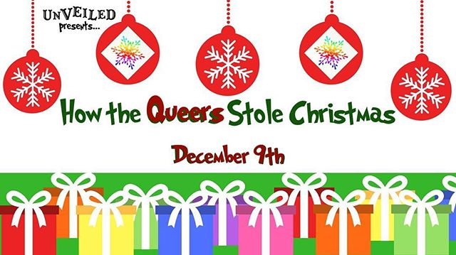 Tonight @thewaywardlamb Unveiled: Eugene's Queer Burlesque presents: How the Queers Stole Christmas. Exploring all the facets of the holidays! Doors 7:30, showtime 8PM! Only $6. Stay after the show and dance all night with DJ John the Revelator.  The holiday party season continues at The Wayward Lamb. See you there! . @unveiled_eqb . #thewaywardlamb #unveiled #queer #burlesque #dwntwneugene #eugeneoregon #lgbtq