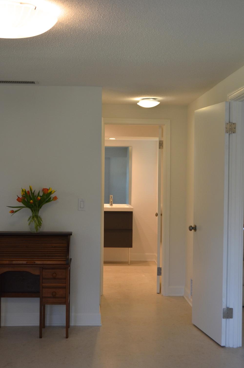 Master Bedroom to Master Bathroom