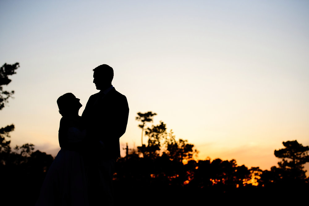 silhouette_wedding_Butterfly_kisses_NC