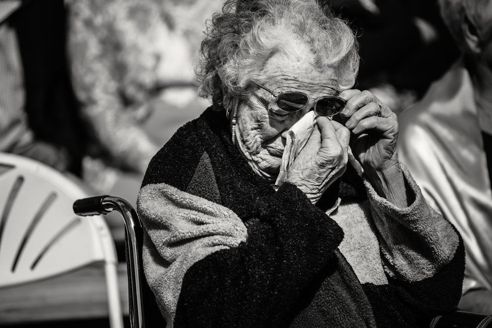 Grandma_Crying_Wedding_Photography_NC