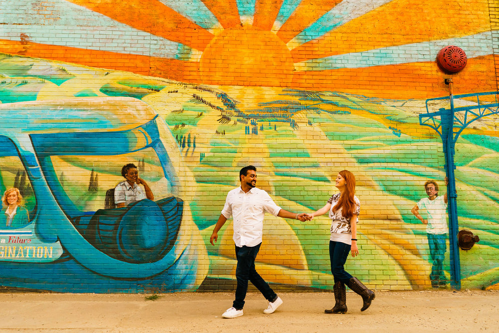 Epic Raleigh NC Engagement Photography