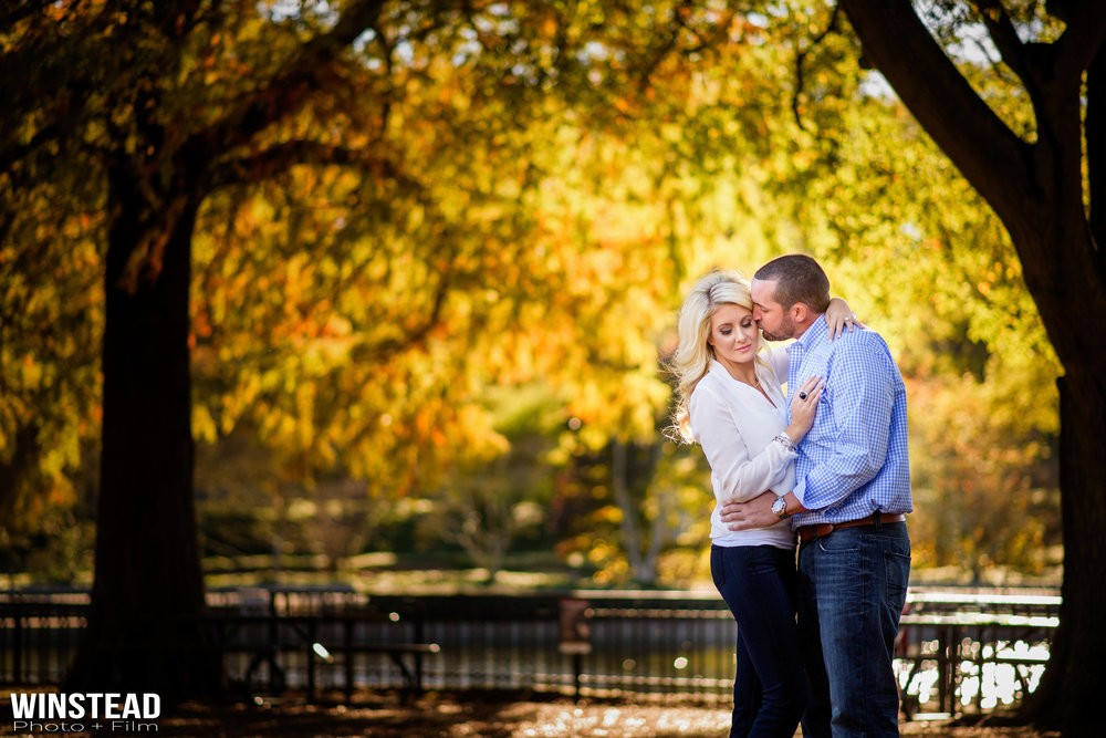 Beautiful Fall Engagement Session : Top Raleigh, NC Engagement Photographer.