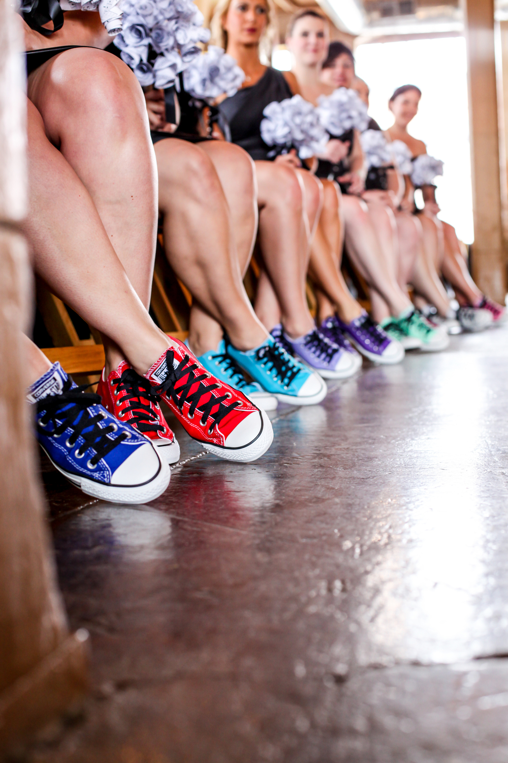 Converse Bridesmaid Shoes