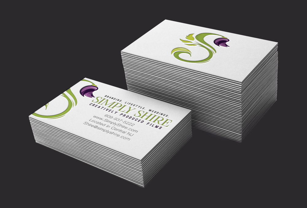 videographer business card design