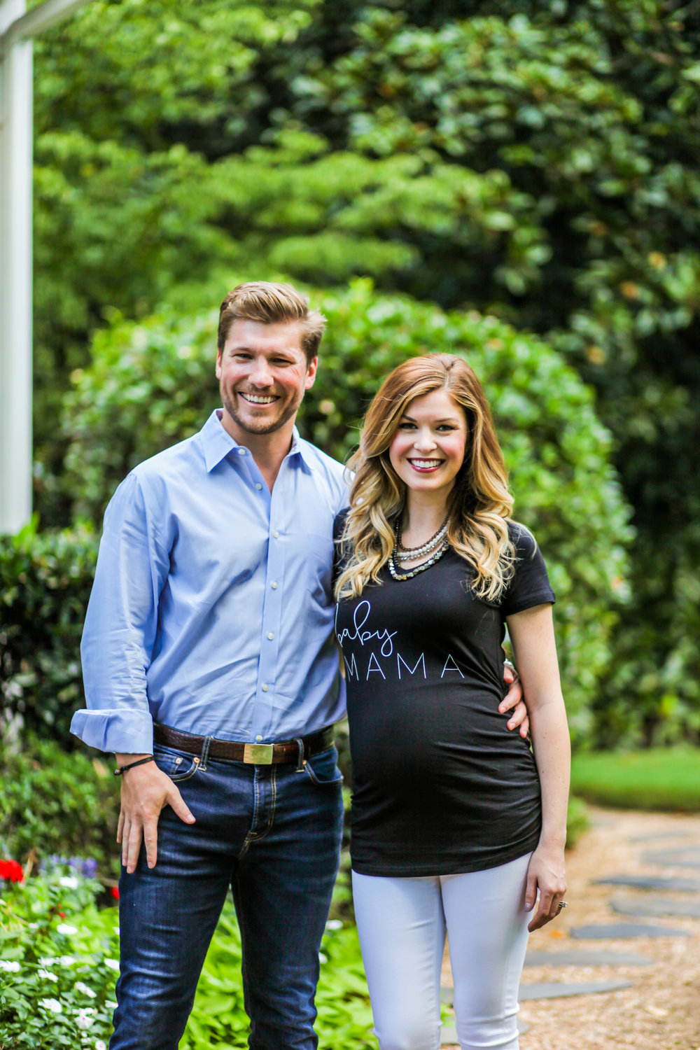 atlanta pregnancy announcement