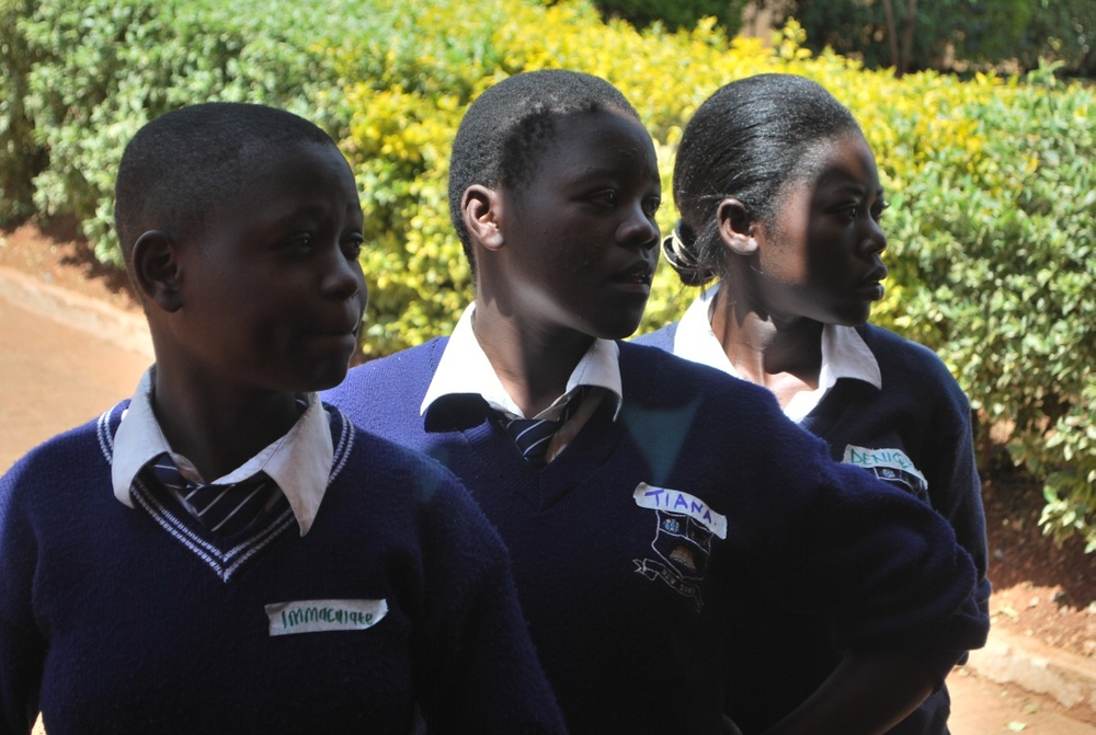 Kenyan Student Girls