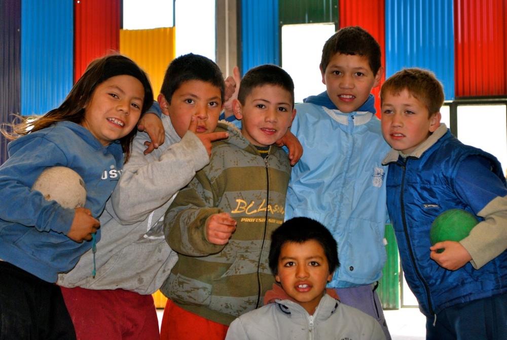 Casa del Nino kids