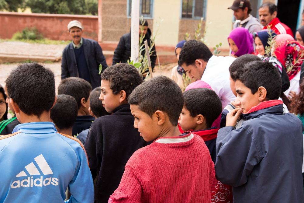 Moroccan boys