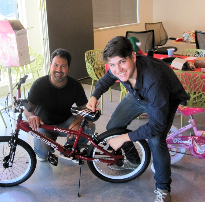 Building bikes for kids in need