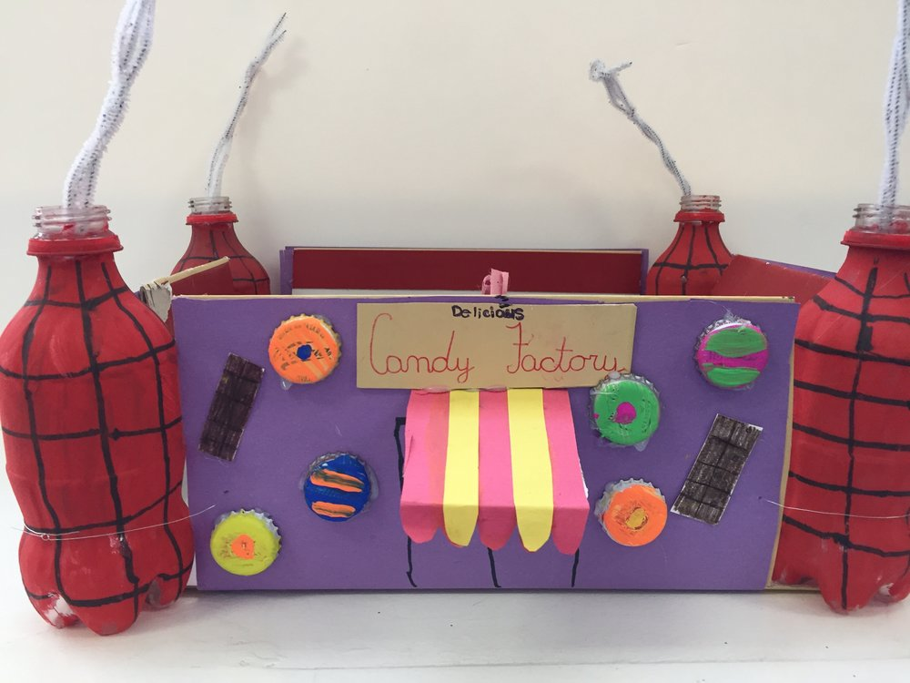 "Brianna Frade, ""Delicious Candy Factory""- Saint Raphael School"