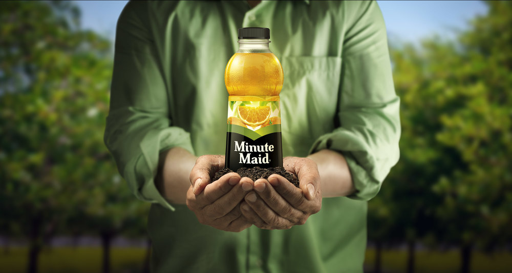 Minute Maid Farmer's Hands