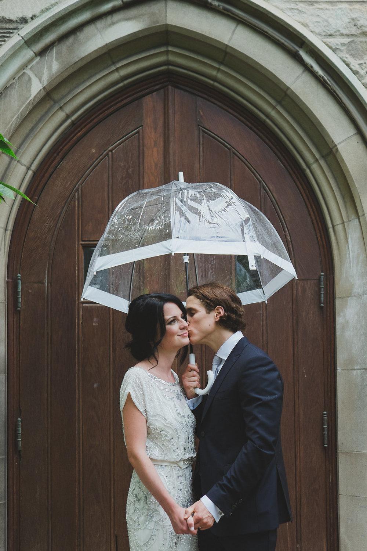 White Birdcage Umbrella. Photo: Tara Lilly Photography