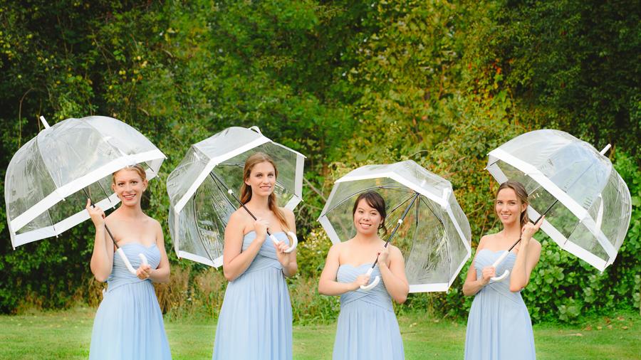 White Birdcage Umbrella. Photo: Jessilyn Wong Photography