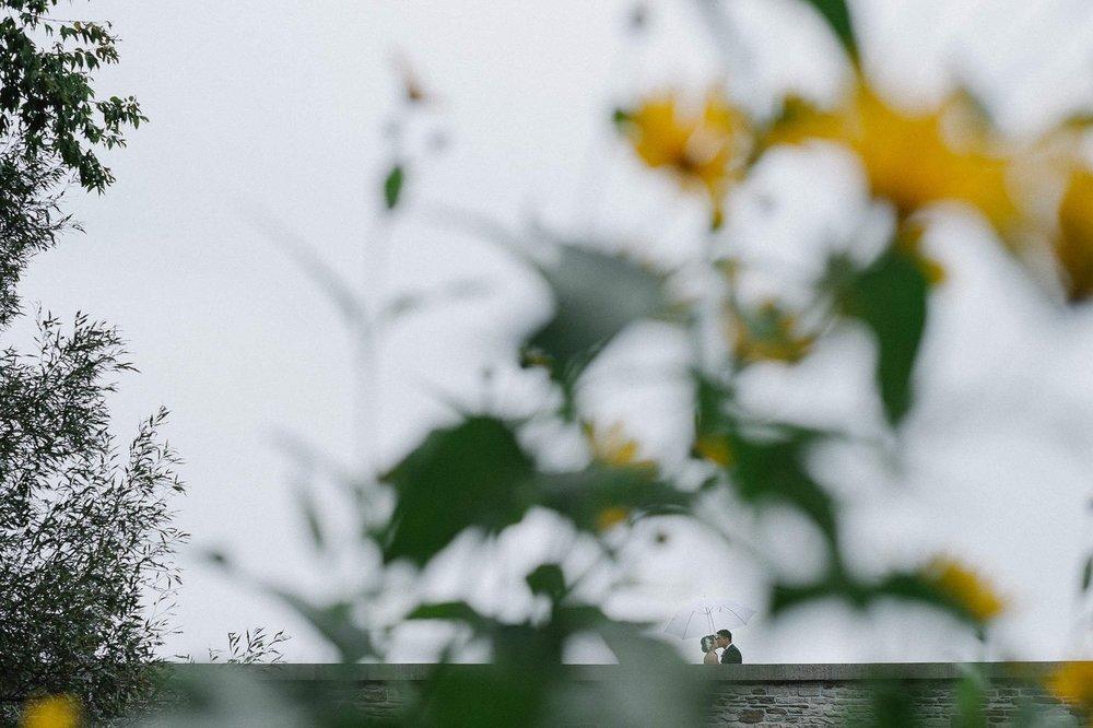White Fairway Umbrella. Photo: Aron Goss Photography
