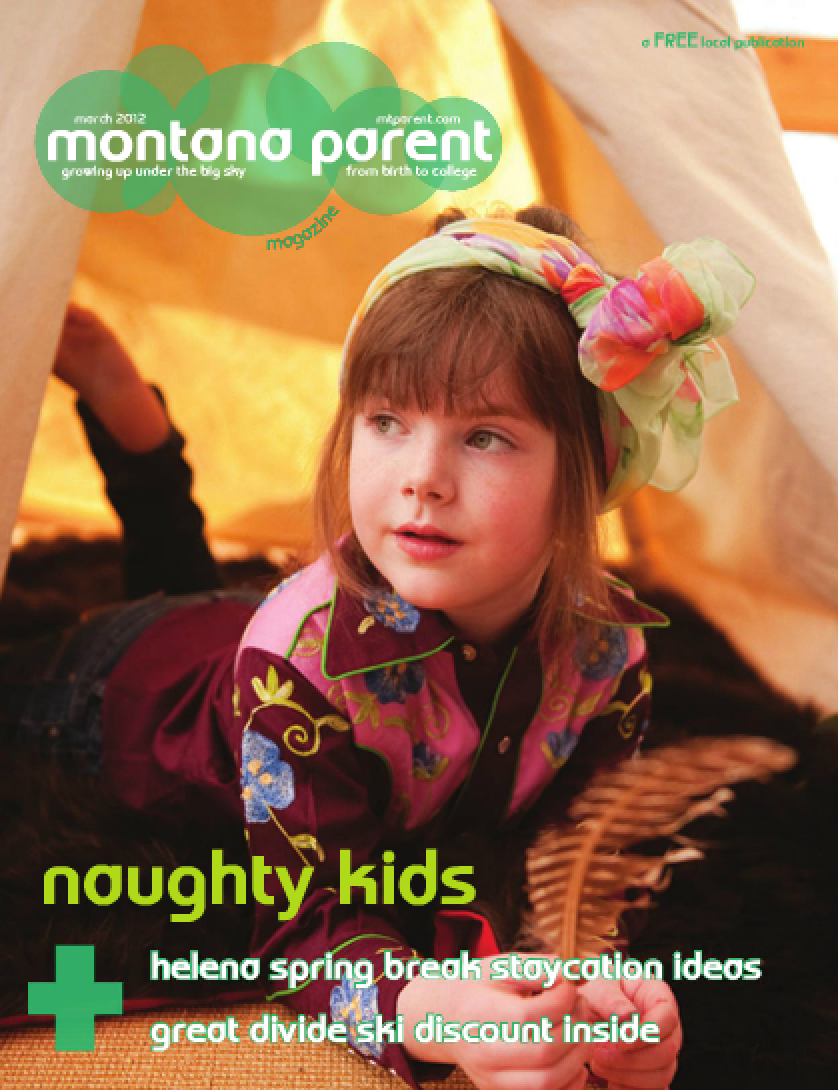 Little Turtle's Tipi featured in Montana Parent Magazine