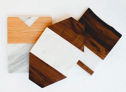 bois et marbre