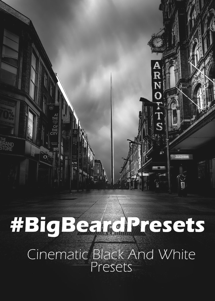 Presets logo black and white jpg