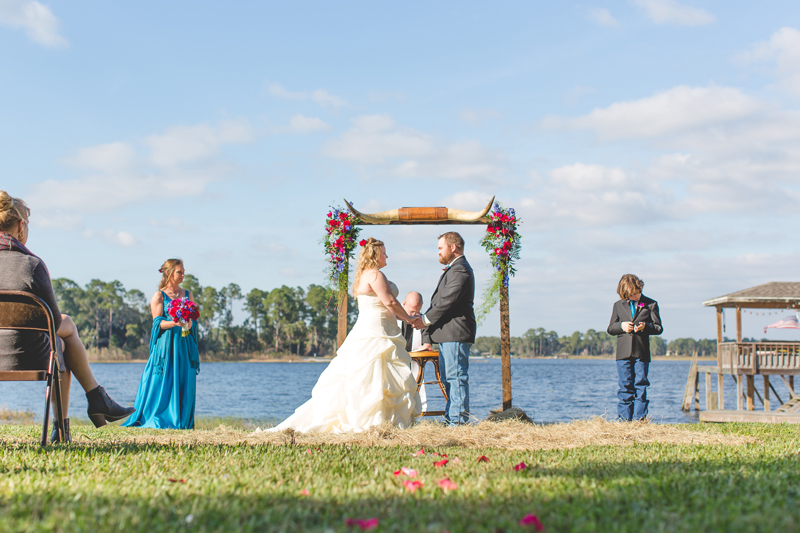 Outdoor Southern Wedding | intimate wedding