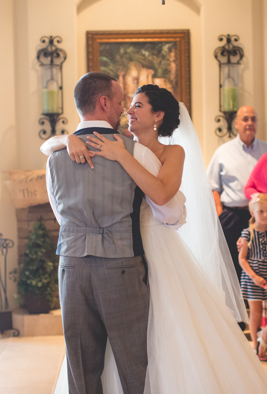 jaime diorio destination orlando wedding photographer bride and groom first dance