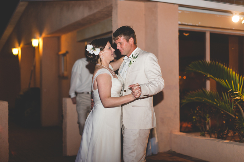 First Dance - Beach Wedding Photos - destination Orlando wedding photographer - Jaime DiOrio