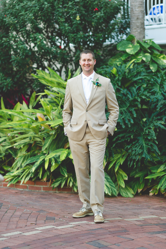 Groom Portrait - Tradewinds Island Grand Resort beach wedding - st pete beach - Jaime DiOrio Photography - Destination Orlando wedding photographer -  (28).JPG