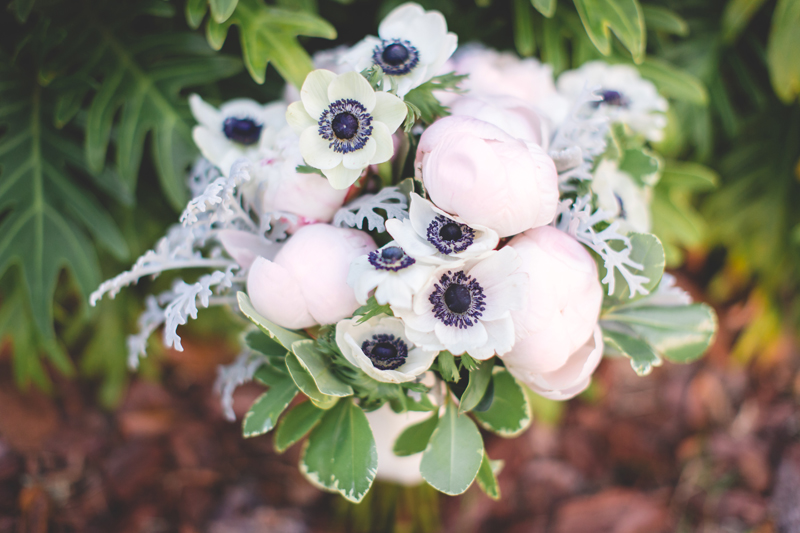 Blush and white bridal bouquet with peonies and anemones - bohemian inspired outdoor wedding at Mission Inn Resort - howey in the hills fl - destination orlando wedding photographer - Jaime DiOrio (2).jpg