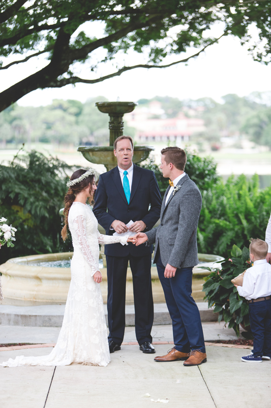 wedding rings - bohemian inspired outdoor wedding at Mission Inn Resort - howey in the hills fl - destination orlando wedding photographer - Jaime DiOrio (61).jpg