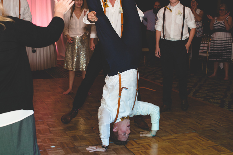 Groomsmen doing handstand at reception - bohemian inspired outdoor wedding at Mission Inn Resort - howey in the hills fl - destination orlando wedding photographer - Jaime DiOrio (72).jpg