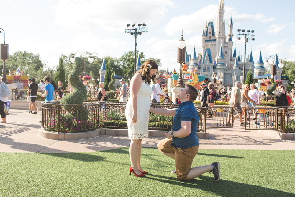 Jaime DiOrio - Magic Kingdom Engagement Session - Epcot Engagement Session - Disney Engagement photos - Magic Kingdom Engagement Photos (5).jpg