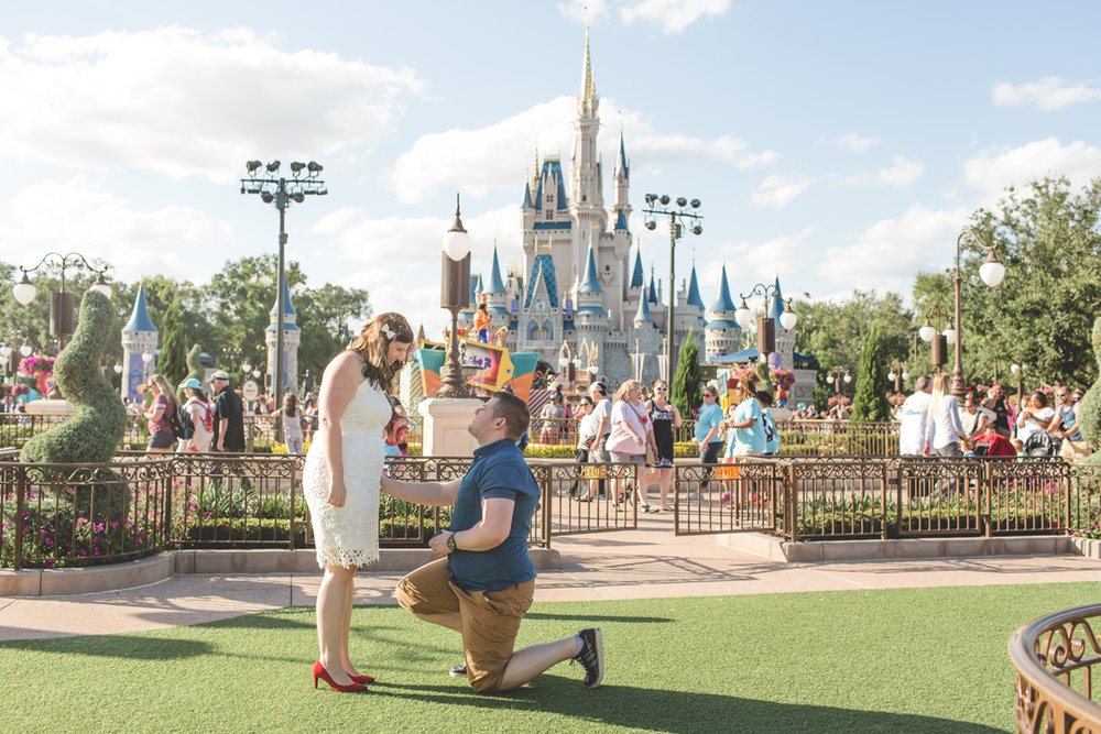 Jaime DiOrio - Magic Kingdom Engagement Session - Epcot Engagement Session - Disney Engagement photos - Magic Kingdom Engagement Photos (6).jpg