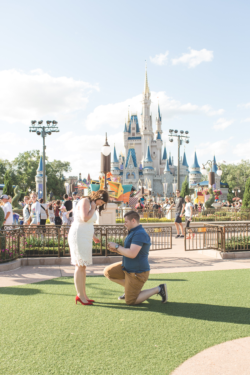 Jaime DiOrio - Magic Kingdom Engagement Session - Epcot Engagement Session - Disney Engagement photos - Magic Kingdom Engagement Photos (7).jpg
