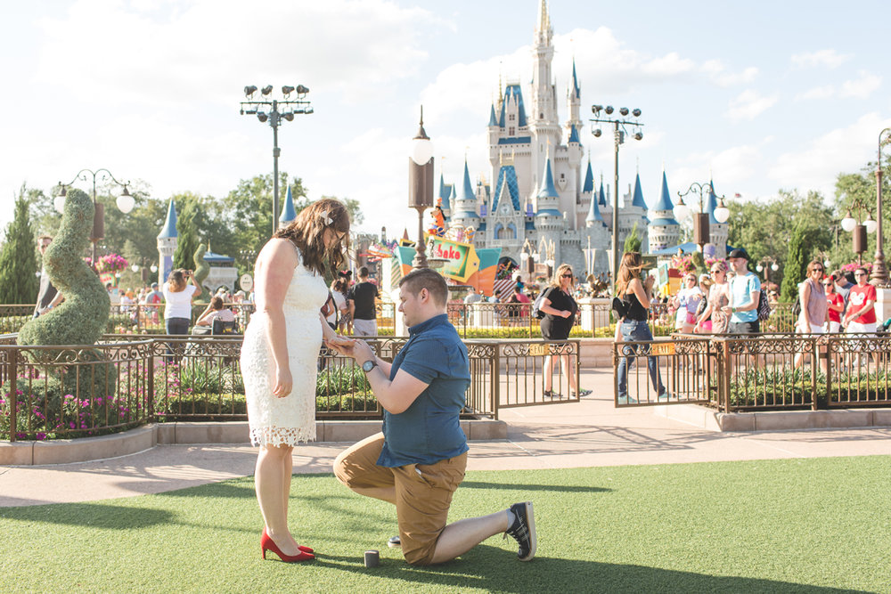 Jaime DiOrio - Magic Kingdom Engagement Session - Epcot Engagement Session - Disney Engagement photos - Magic Kingdom Engagement Photos (8).jpg