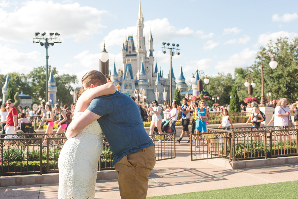 Jaime DiOrio - Magic Kingdom Engagement Session - Epcot Engagement Session - Disney Engagement photos - Magic Kingdom Engagement Photos (9).jpg