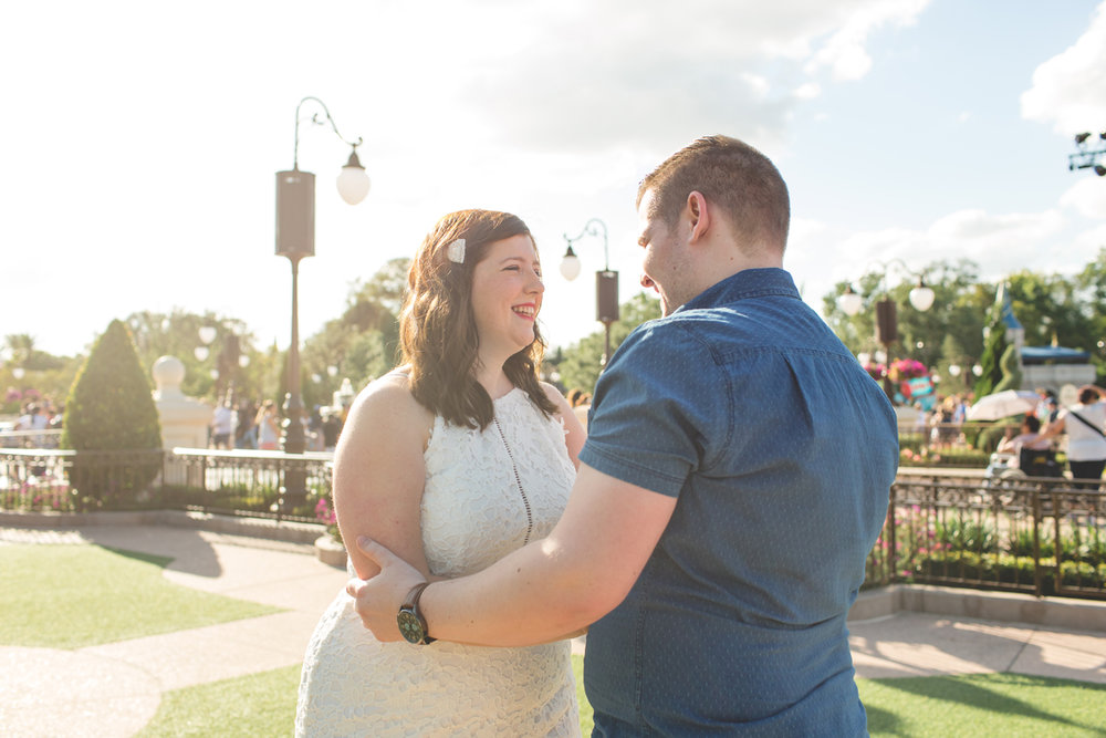 Jaime DiOrio - Magic Kingdom Engagement Session - Epcot Engagement Session - Disney Engagement photos - Magic Kingdom Engagement Photos (12).jpg