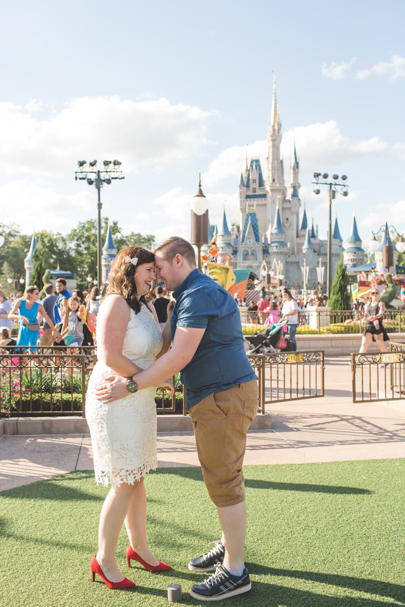 Jaime DiOrio - Magic Kingdom Engagement Session - Epcot Engagement Session - Disney Engagement photos - Magic Kingdom Engagement Photos (11).jpg
