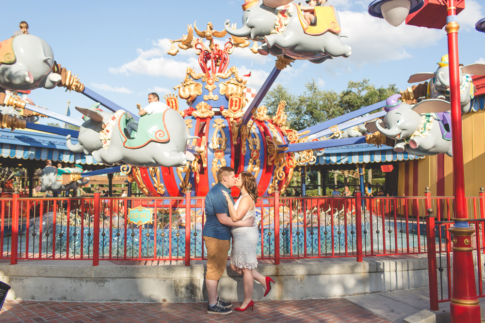 Jaime DiOrio - Magic Kingdom Engagement Session - Epcot Engagement Session - Disney Engagement photos - Magic Kingdom Engagement Photos (22).jpg