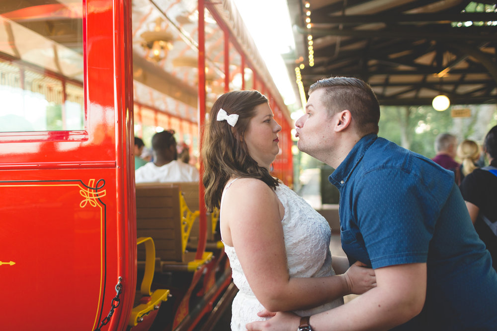 Jaime DiOrio - Magic Kingdom Engagement Session - Epcot Engagement Session - Disney Engagement photos - Magic Kingdom Engagement Photos (28).jpg