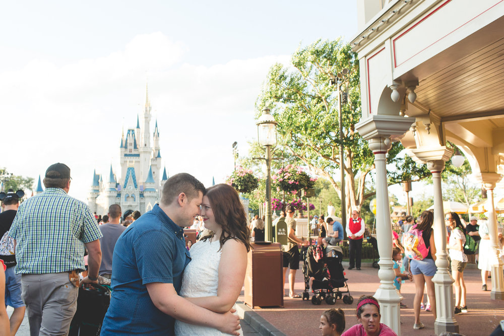 Jaime DiOrio - Magic Kingdom Engagement Session - Epcot Engagement Session - Disney Engagement photos - Magic Kingdom Engagement Photos (39).jpg