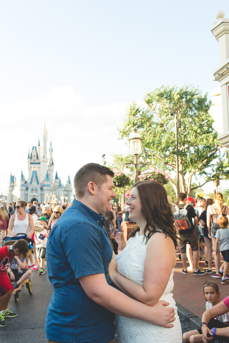 Jaime DiOrio - Magic Kingdom Engagement Session - Epcot Engagement Session - Disney Engagement photos - Magic Kingdom Engagement Photos (40).jpg