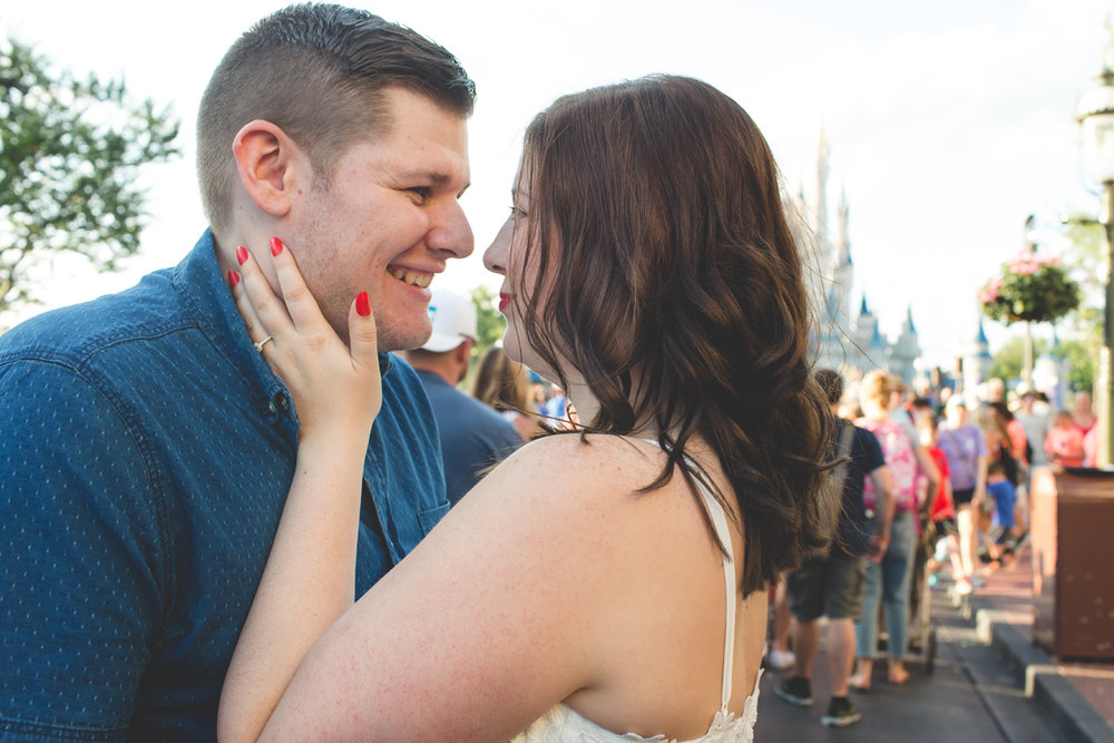 Jaime DiOrio - Magic Kingdom Engagement Session - Epcot Engagement Session - Disney Engagement photos - Magic Kingdom Engagement Photos (42).jpg