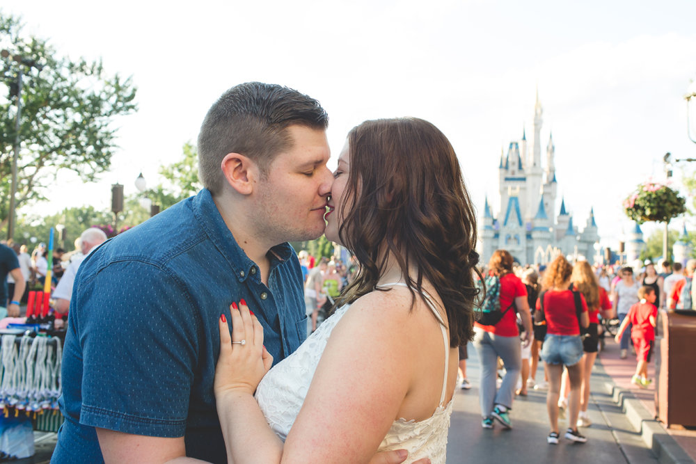Jaime DiOrio - Magic Kingdom Engagement Session - Epcot Engagement Session - Disney Engagement photos - Magic Kingdom Engagement Photos (43).jpg