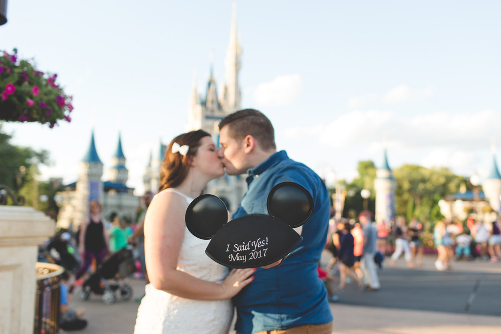 Jaime DiOrio - Magic Kingdom Engagement Session - Epcot Engagement Session - Disney Engagement photos - Magic Kingdom Engagement Photos (45).jpg