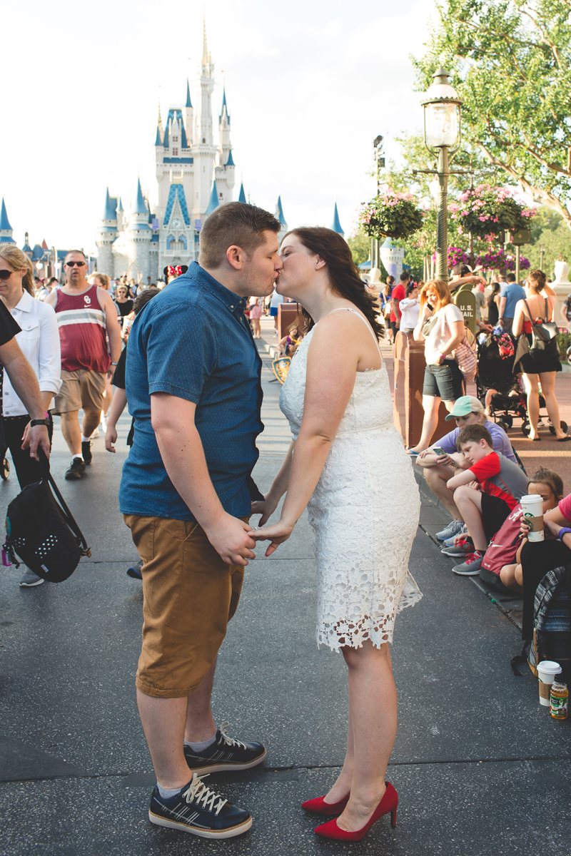 Jaime DiOrio - Magic Kingdom Engagement Session - Epcot Engagement Session - Disney Engagement photos - Magic Kingdom Engagement Photos (44).jpg
