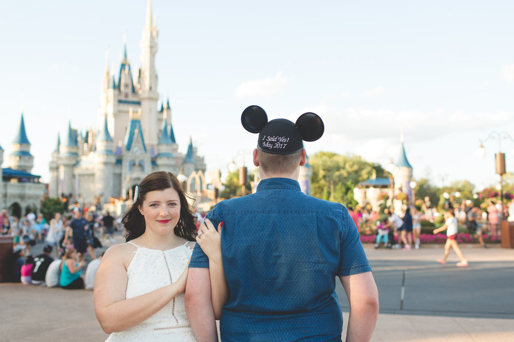 Jaime DiOrio - Magic Kingdom Engagement Session - Epcot Engagement Session - Disney Engagement photos - Magic Kingdom Engagement Photos (46).jpg