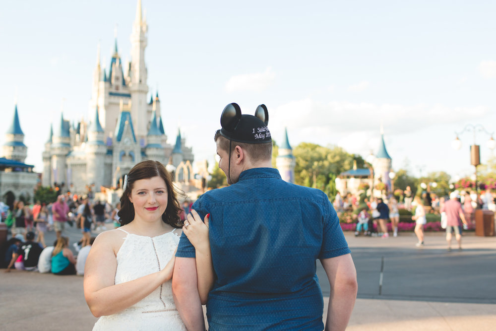 Jaime DiOrio - Magic Kingdom Engagement Session - Epcot Engagement Session - Disney Engagement photos - Magic Kingdom Engagement Photos (47).jpg