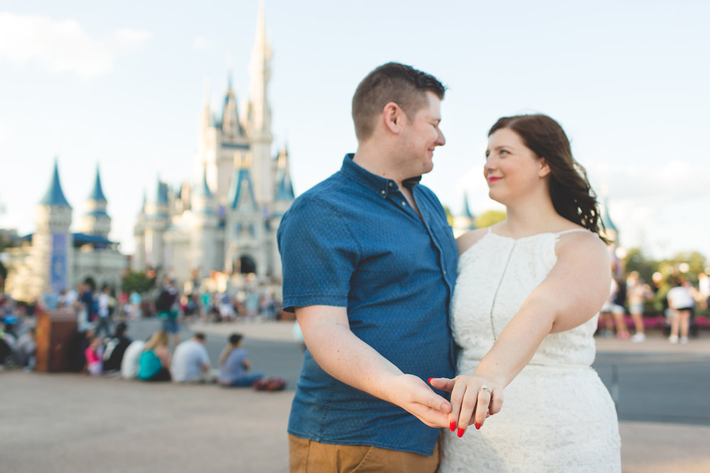 Jaime DiOrio - Magic Kingdom Engagement Session - Epcot Engagement Session - Disney Engagement photos - Magic Kingdom Engagement Photos (48).jpg