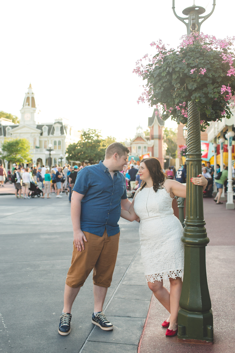 Jaime DiOrio - Magic Kingdom Engagement Session - Epcot Engagement Session - Disney Engagement photos - Magic Kingdom Engagement Photos (49).jpg