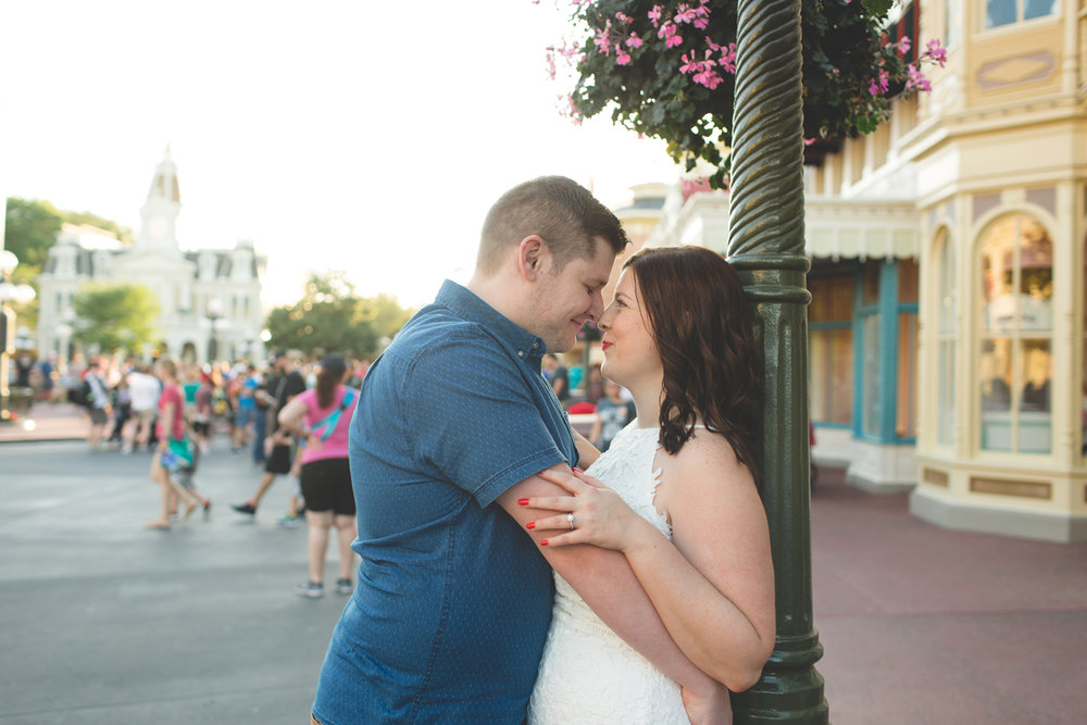 Jaime DiOrio - Magic Kingdom Engagement Session - Epcot Engagement Session - Disney Engagement photos - Magic Kingdom Engagement Photos (50).jpg