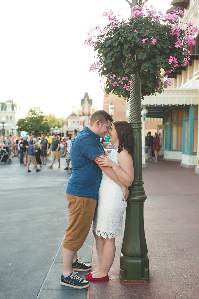 Jaime DiOrio - Magic Kingdom Engagement Session - Epcot Engagement Session - Disney Engagement photos - Magic Kingdom Engagement Photos (51).jpg